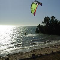 Sport kitesurf caliente beach tulear